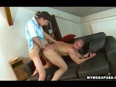 Well hung uncut stud bonks super tight ass bareback
