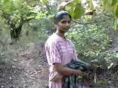 indian teenage playgirl fucking very hardly with in forest