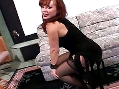 Sexy redhead hooter prostitute pildriver fuck