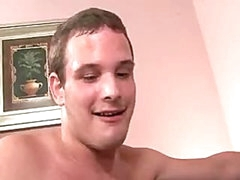 Twenty yr old scared str8 guy comes up against a very aggressive and sexy bi dude.