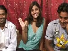Khushi With Raj And Akshay