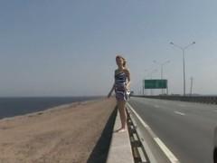 Girlie on the beach