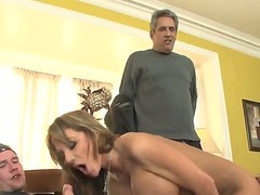 This is hawt threesome fuck movie with Herschal Savage, Nikki Sexx and Sonny Hicks, guys got the beauty between 'em and fucking her in two holes at the same time!