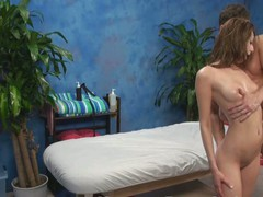 Gia enticed and screwed by her massage therapist on hidden camera