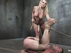large marangos blonde giving anal pang to her dude
