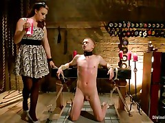chanel preston tortures pain wench with wax