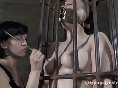 punk doxy caged and punished