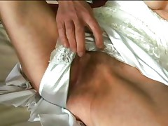 granny fingers herself and sucks a pecker