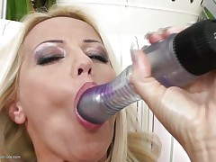 blonde masturbating until her dark brown girlfriend comes to help