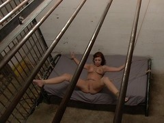 Roped and fucked right into an asshole