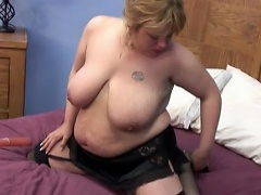 She is a heavy blonde sweetheart who's twat needs some pampering. See...