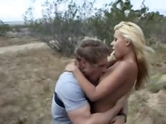 Hot pierced snatch drilled outdoors